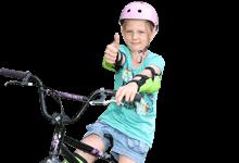Sonderurlaub für ehrenamtliche im Sport: Mädchen mit Fahrrad