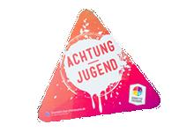 Gremien der Sportjugend NRW: Achtung Jugend -Schild