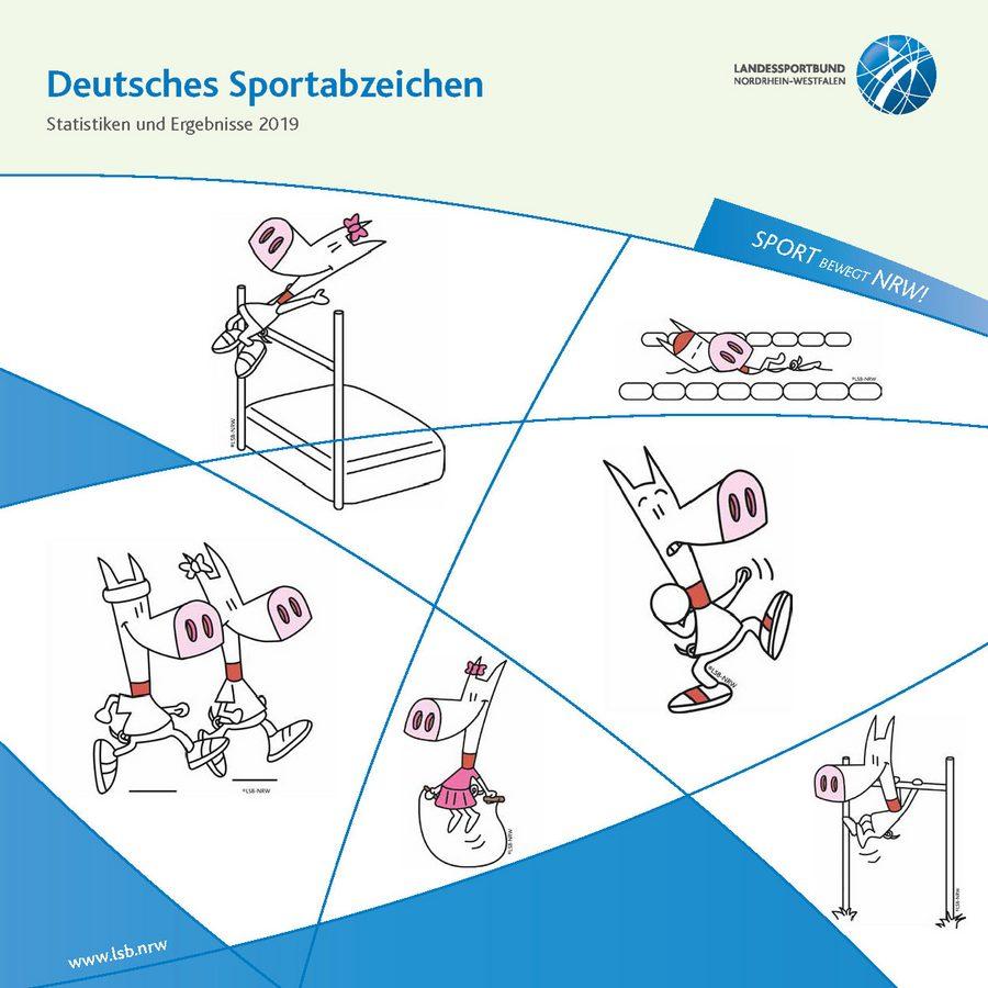 Cover Sportabzeichen Dokumentation 2019