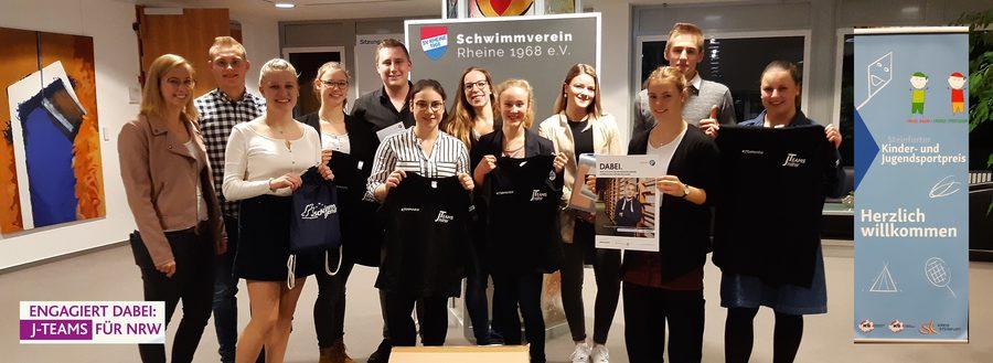 J-Team SV Rheine mit Vanessa Mellentin und Ulrike Vokenandt