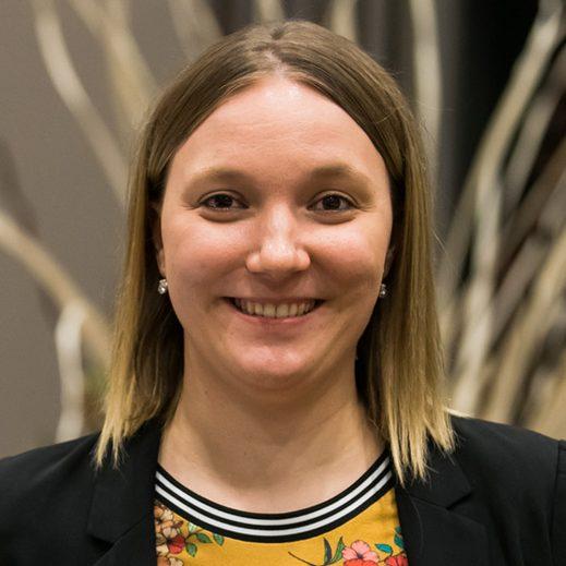 Laura Hantke, Mitglied des Jugendvorstandes der Sportjugend NRW