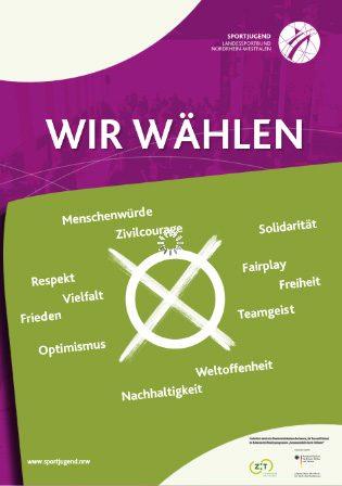 """Plakat """"Wir wählen"""" - Kommunalwahl 2020"""