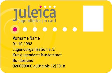 Beispiel Juleica Ausweis