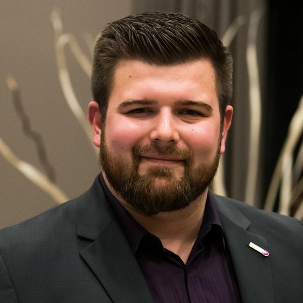 Lars Mittkowski, Mitglied des Jugendvorstandes der Sportjugend NRW
